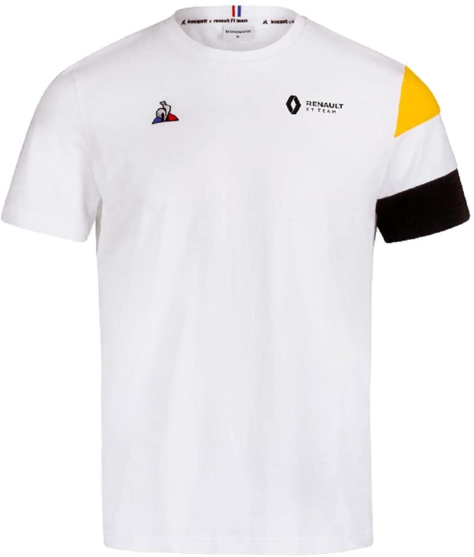 Renault F1 Men's Team White T-Shirt