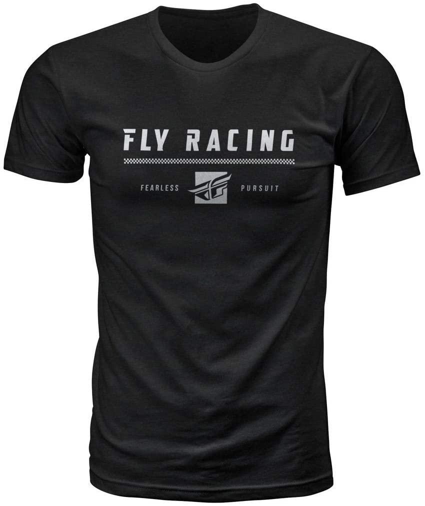 Fly Racing Pursuit T-Shirt (Large) (Black)