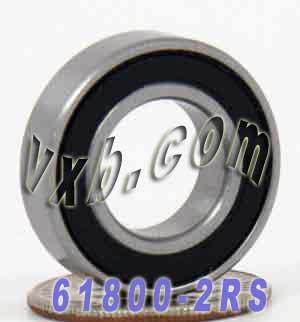 61800-2RS Bearing 10x19 Sealed 10x19x5 Ball Bearings