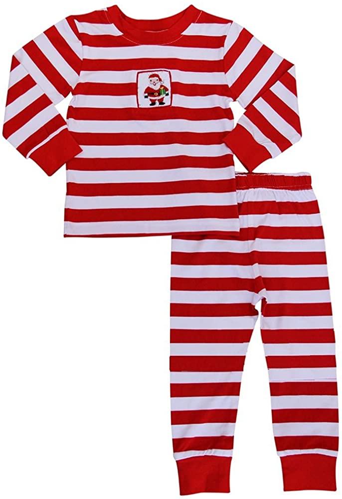 Babeeni Santa Stripe Top and Pants