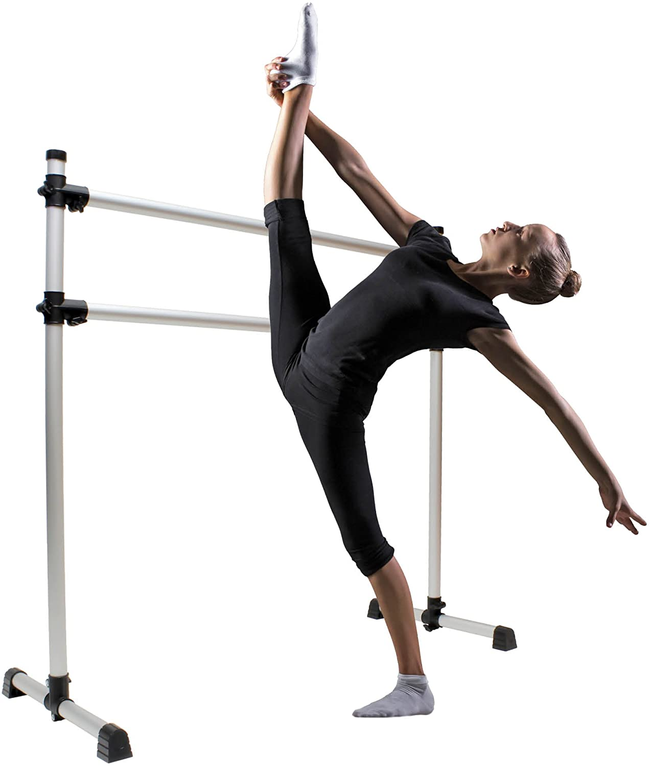 Get Out! Ballet Barre Portable for Home or Studio - Ballet Bar Portable Dance Barre, Ballet Barre Freestanding Equipment