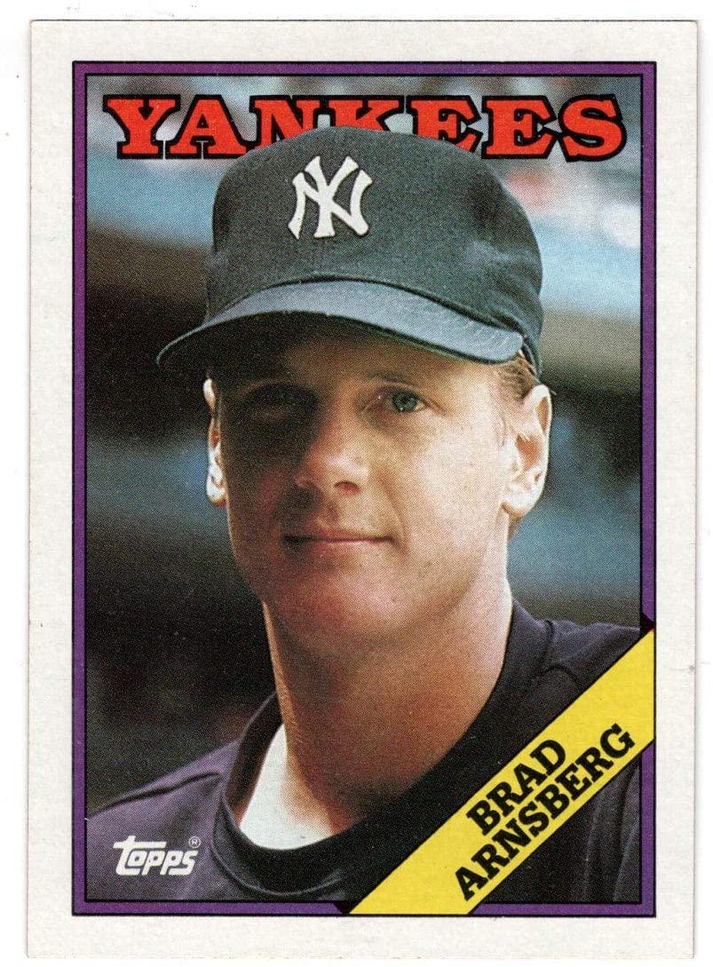 Brad Arnsberg - New York Yankees (Baseball Card) 1988 Topps # 159 Mint