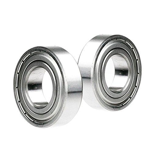 2x 5311-ZZ 2Z Metal Sealed Double Row Ball Bearing Shield 55mm x 120mm x 49.2mm