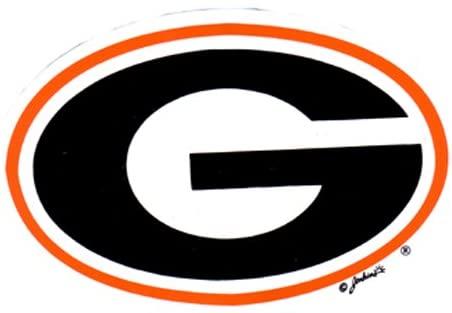 NCAA Georgia Bulldogs Car Magnet with