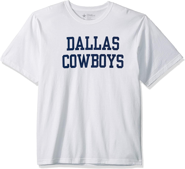 NFL Dallas Cowboys Mens Coaches Short Sleeve Tee, White, Large