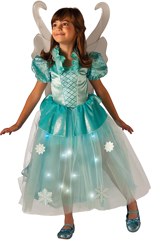 Rubies Costume Kids Winter Fairy Lite up Costume, X-Small