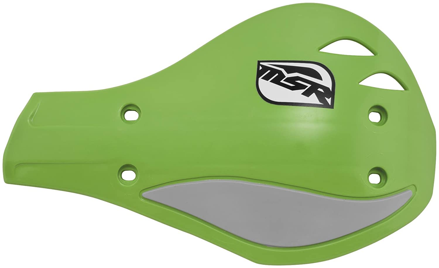 MSR Evolution Bar Mount Hand Shields Green Silver