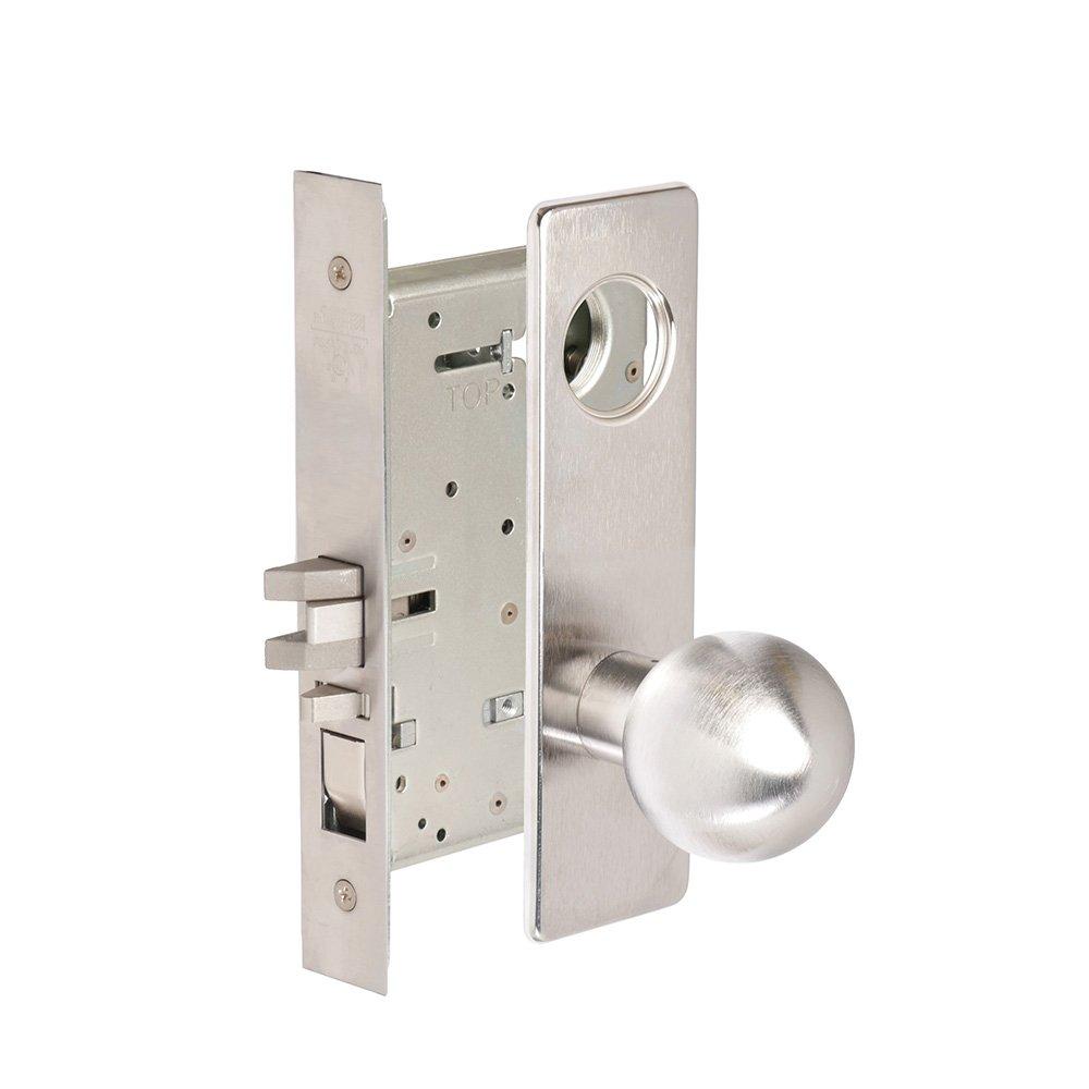 CORBINRUSSWIN ML2051-GWM-626-LC 626 Satin Chrome, Knob GWM Global, Entrance/Entry/Office, Steel; Stainless Steel; Brass