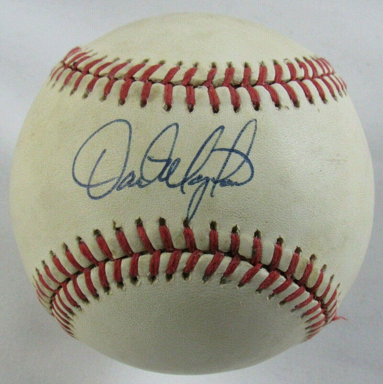 Autographed Dave Magadan Baseball - Rawlings B110 - Autographed Baseballs