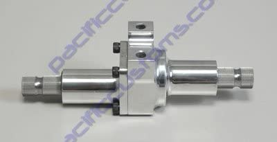Pacific Customs Steering Quickener Or Reducer 48 Spline On Both Ends with 2:1 Ratio