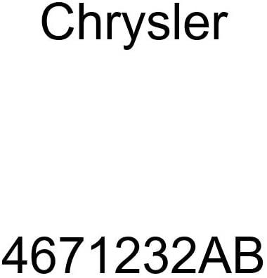 Genuine Chrysler 4671232AB Power Seat Switch