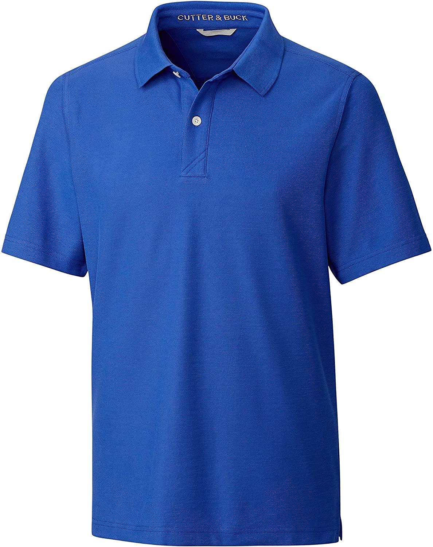 Cutter & Buck Men's Big & Tall Short Sleeve Breakthrough 2 Button Polo