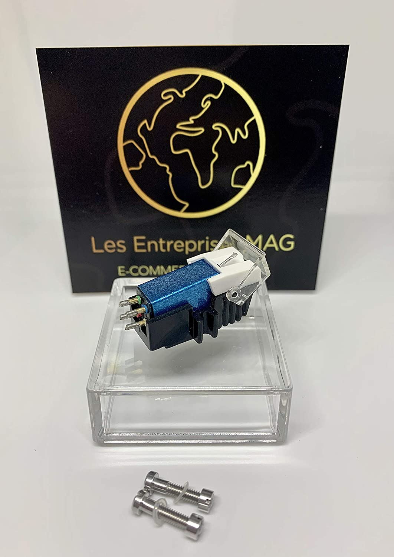 Cartridge + Diamond stylus for SONY PSLX44P, PSLX46P, PSLX49P, PSLX52P, PSLX56P Sea Blue