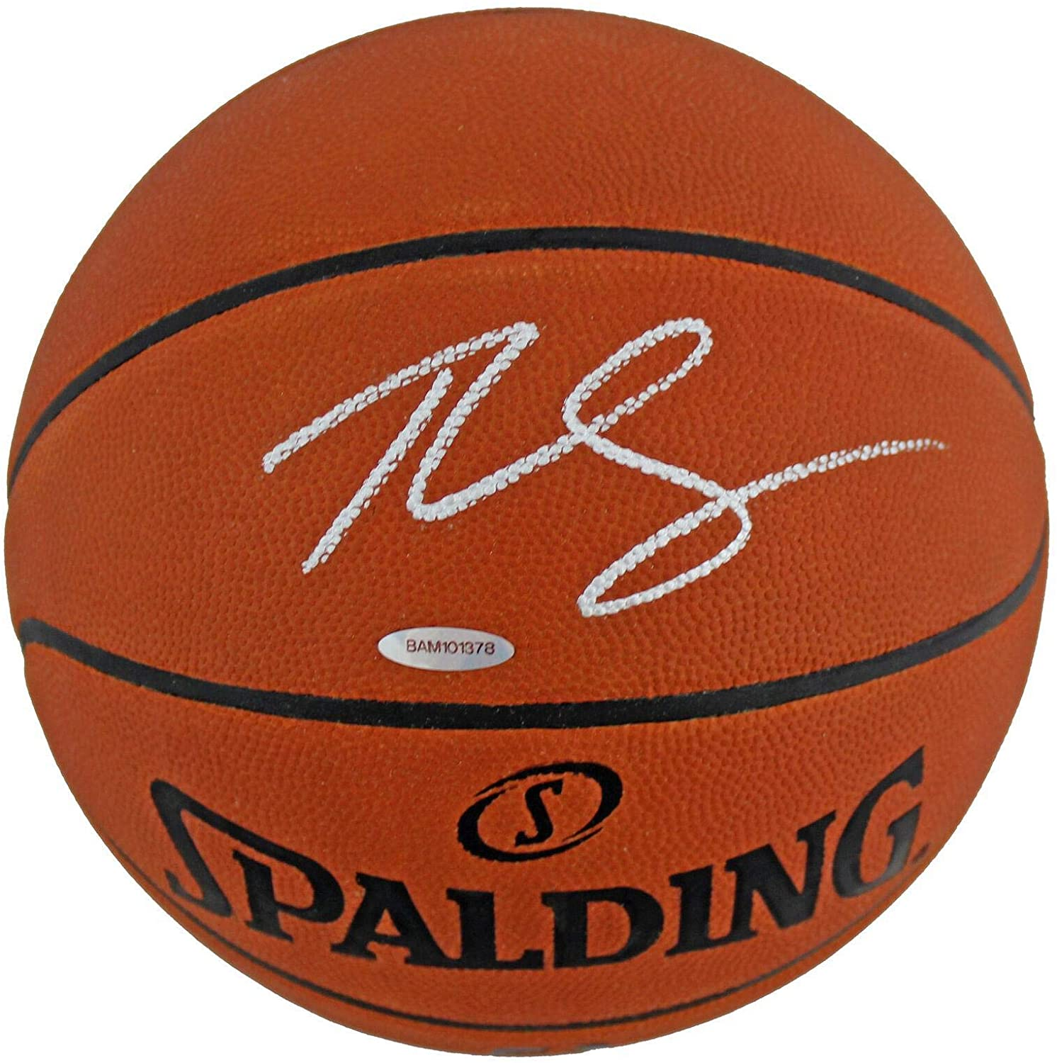 Ben Simmons Autographed Basketball - Official Game #BAM101378 - Upper Deck Certified - Autographed Basketballs