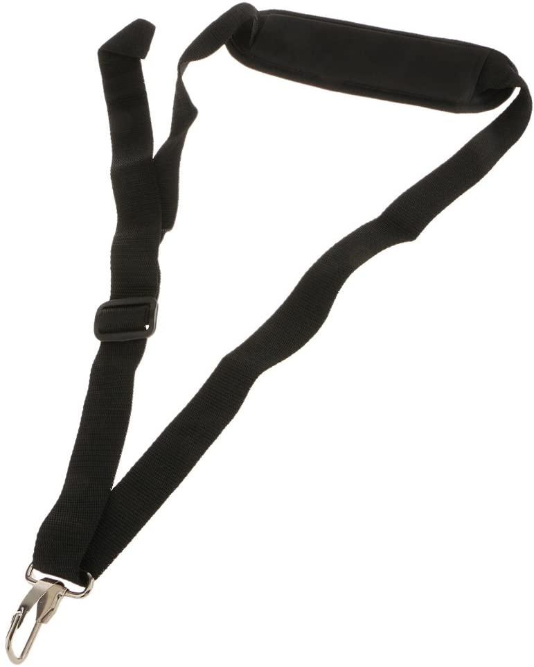 FLAMEER Black Nylon Single Shoulder Harness Strap for Brush Trimmer Cutter 727.5cm