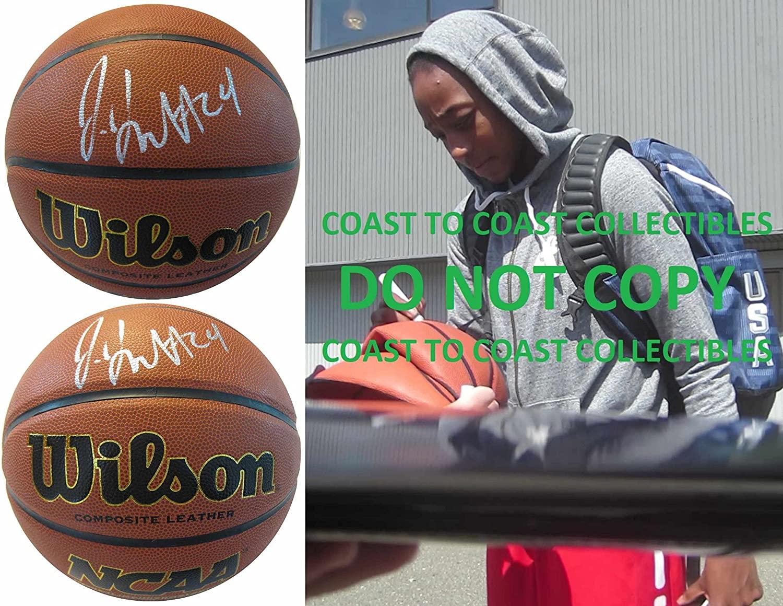 Jewell Loyd Notre Dame fighting Irish signed autographed NCAA basketball proof