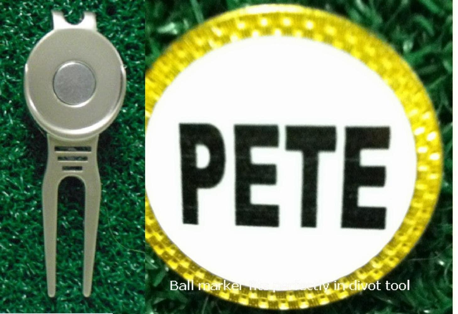 Gatormade Personalized Golf Ball Marker & Divot Tool Pete