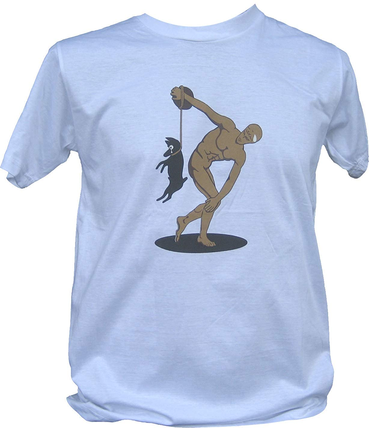 Full Funk Athenian Discus Thrower Tragically Mistaken T-Shirt