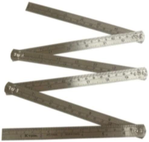 KTI72644 Steel Folding Rule, 3 Length