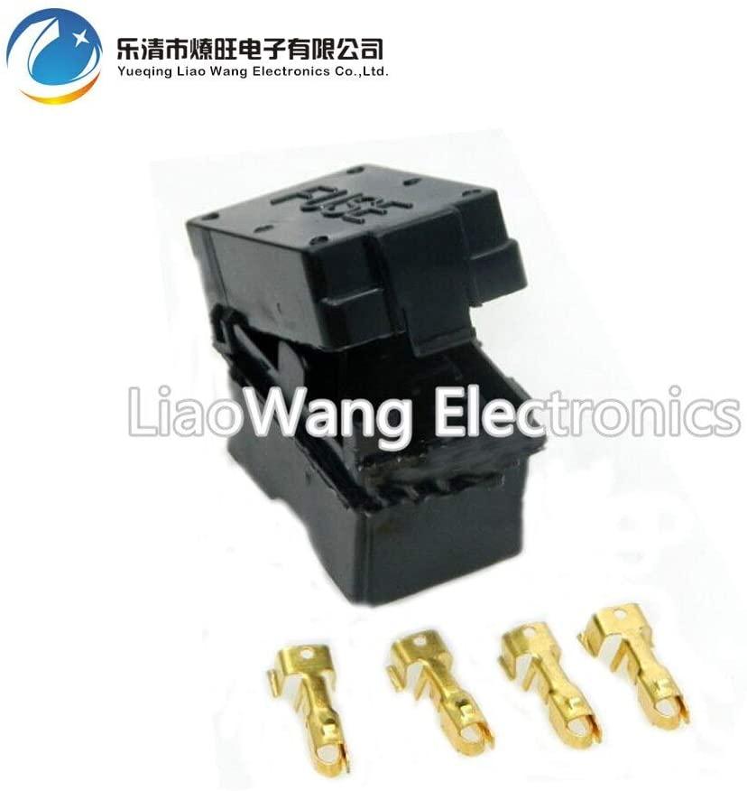 Chavis 4 Way Auto fuse box assembly With terminals Dustproof fuse box fuse box mounting fuse box