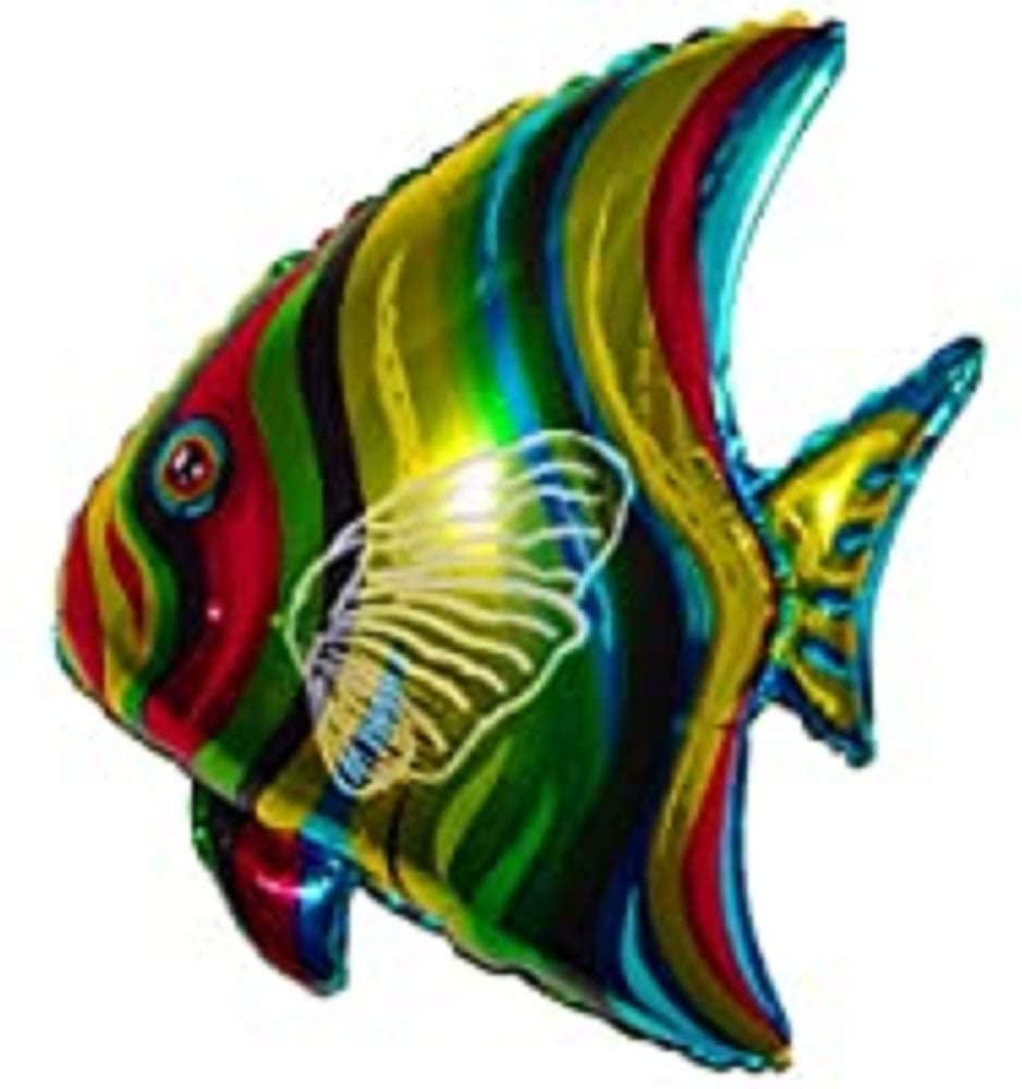SPACE PET Anti-Gravity Hovering Flying Floating Tropical Fish 28 inch Toy Pet Balloon Party Favor