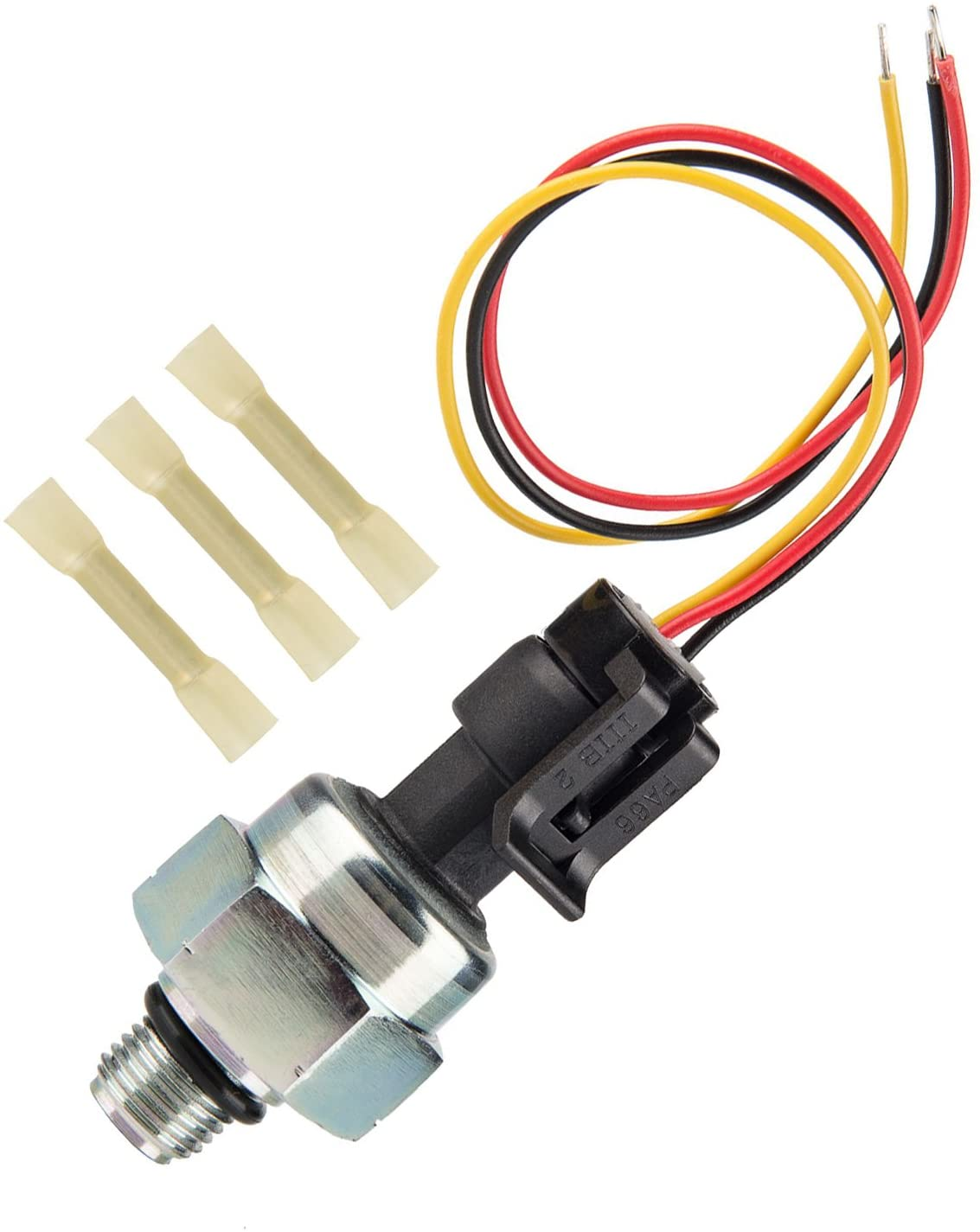 Ford 7.3 ICP Sensor with Pigtail Connector, Fits 1997-2003 Ford 7.3L Diesel Engines Powerstroke, Injection Control Pressure Sensor