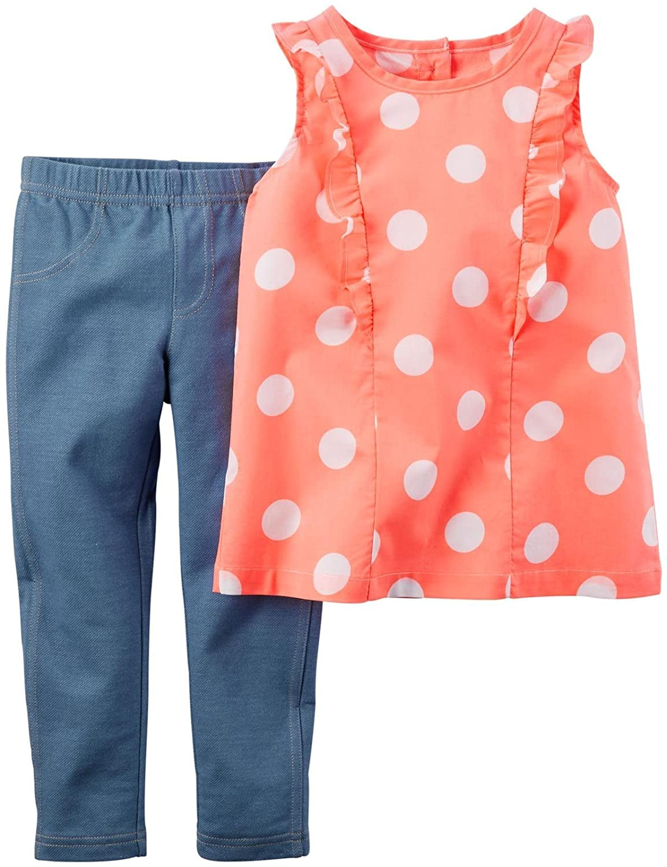 Carter's Baby Girls' 2 Pc Playwear Sets 239g136