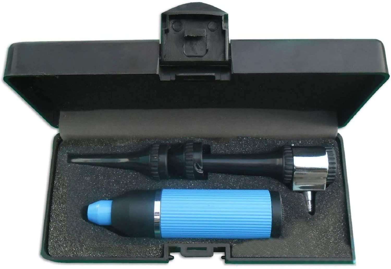 ODM Veterinary Otoscope Diagnostic Set Blue