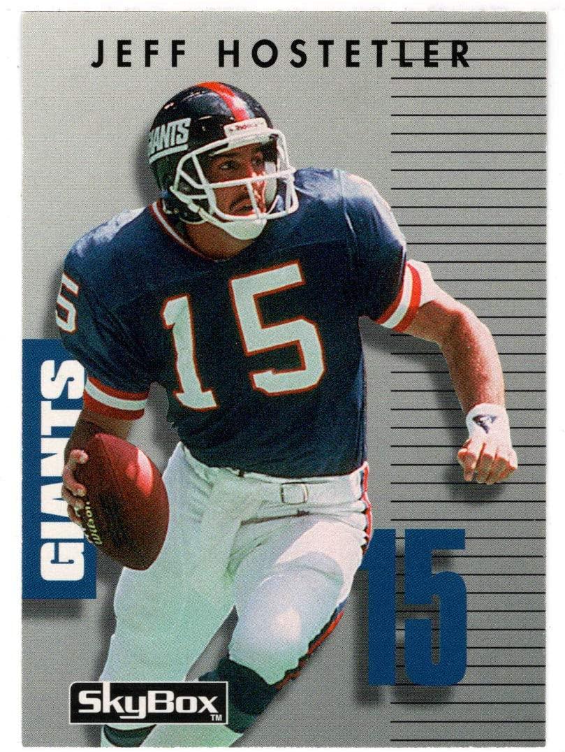 Jeff Hostetler - New York Giants (Football Card) 1992 Skybox Prime Time # 207 Mint