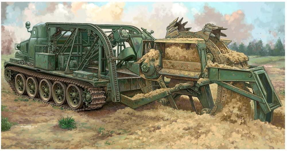 Trumpeter 09502Model Kit BTM 3High-Speed Trench Digging Vehicle