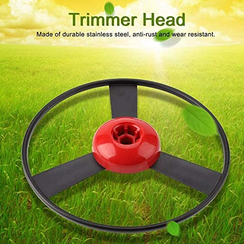 SUQIAOQIAO Wires Gas Trimmer Head, Stainless Steel Garden Grass Brushcutter, Lawn Mower Heads Accessories Replacement Parts Wires