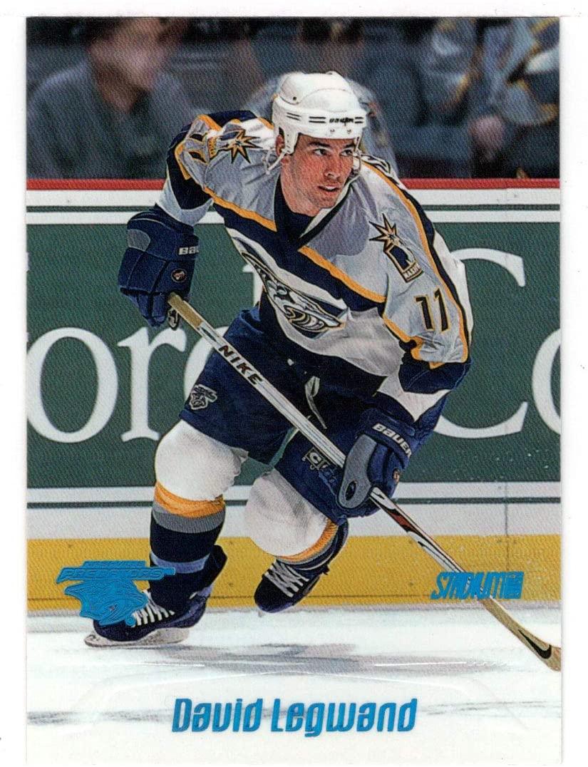 David Legwand - Nashville Predators (Hockey Card) 1999-00 Topps Stadium Club # 200 Mint