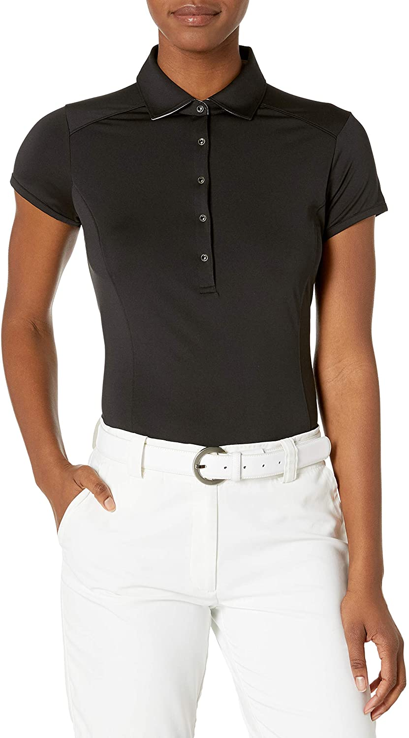 Zero Restriction Womens Halle Short Sleeved Polo