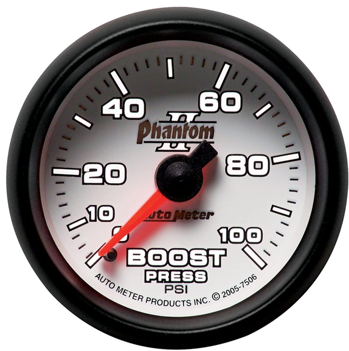 Auto Meter 7506 Phantom II 2-1/16