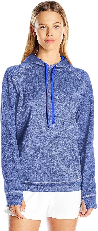 adidas Womens Team Issue Fleece Pullover Hoodie