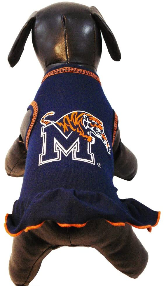 NCAA Memphis Tigers Cheerleader Dog Dress, Tiny