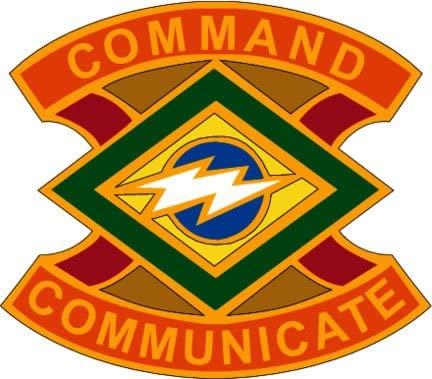 US Army 359th Signal Brigade DUI 6