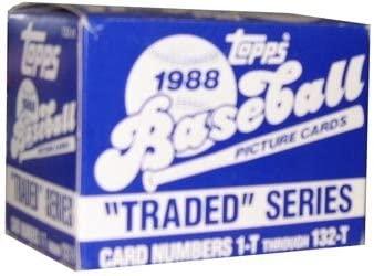 1988 Topps Traded Series Baseball Set - 132C