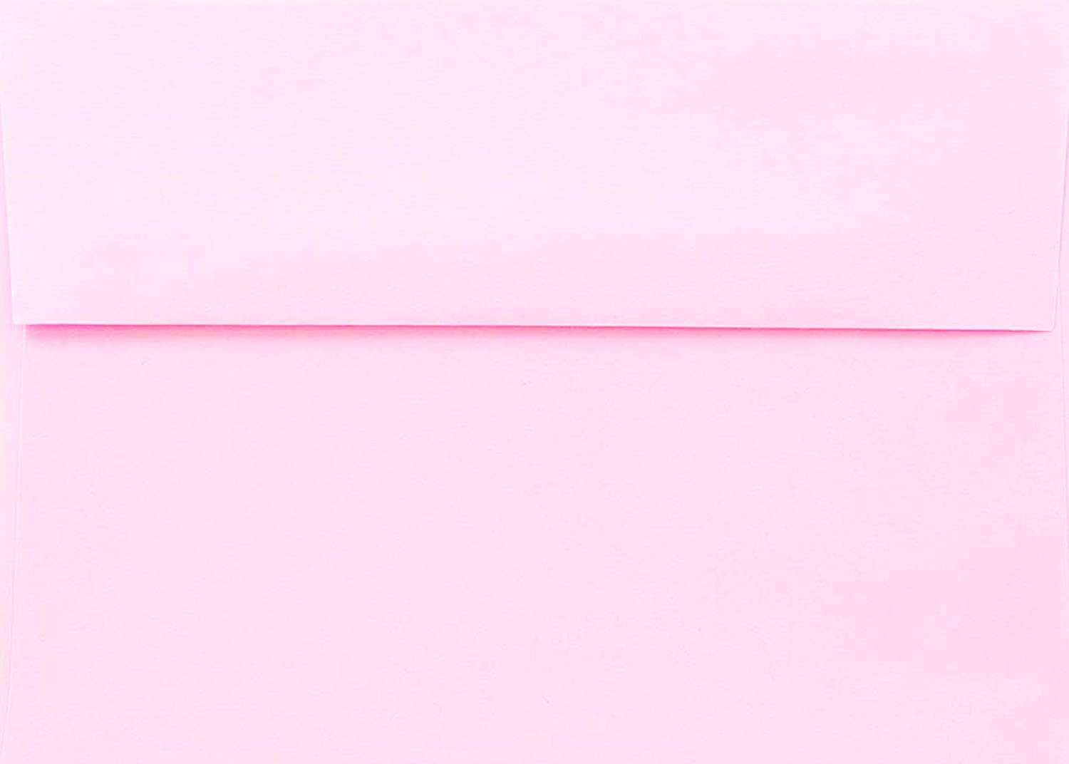 Pink Pastel 100 Boxed (5-1/4 x 7-1/4) A7 Envelopes for 5 X 7 Invitations Announcements from The Envelope Gallery
