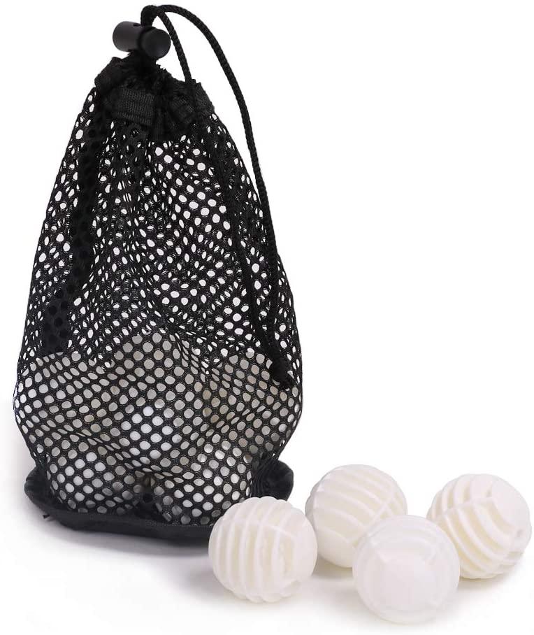 HOW TRUE 12 Pcs Plastic Golf Balls White Golf Practice Training Balls