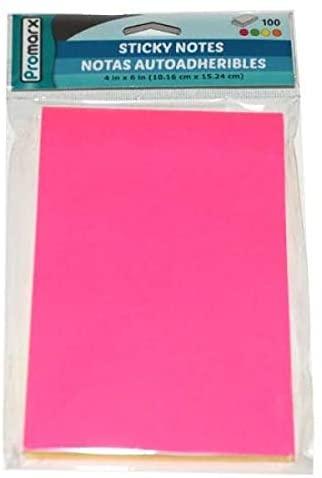Promarx Neon Sticky Notes - 4