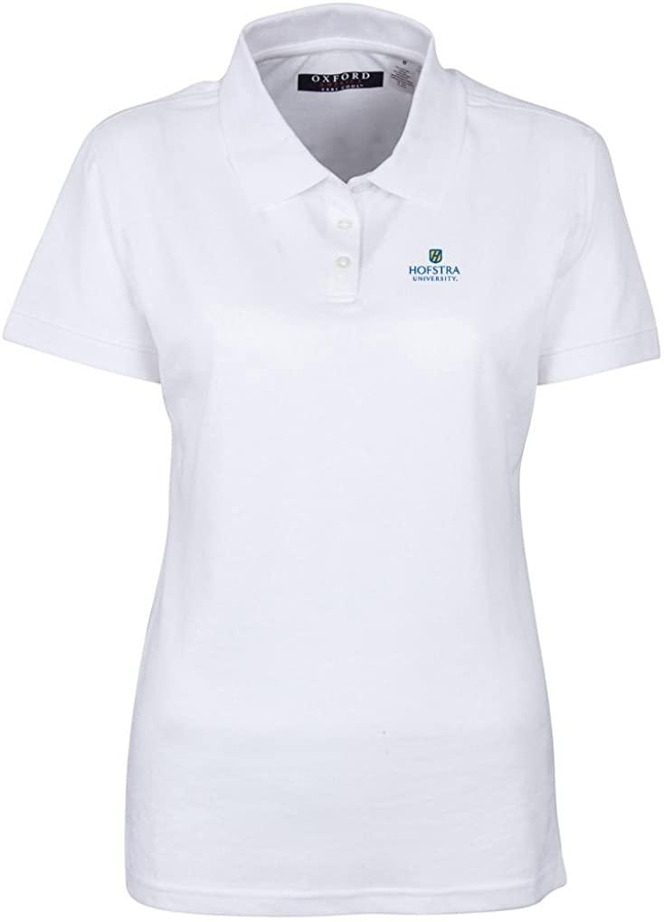 NCAA Arkansas Razorbacks Women's 3 Button Polo Shirt with Banded Sleeves