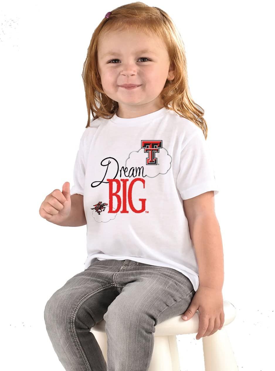 Future Tailgater Texas Tech Red Raiders Dream Big Baby/Toddler T-Shirt