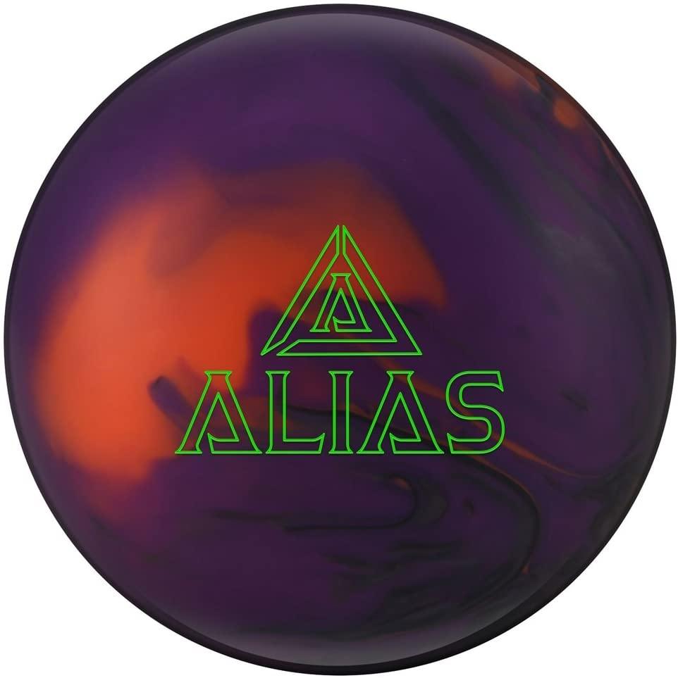 Track Alias Bowling Balls, Smoke/Purple/Orange, 12lbs