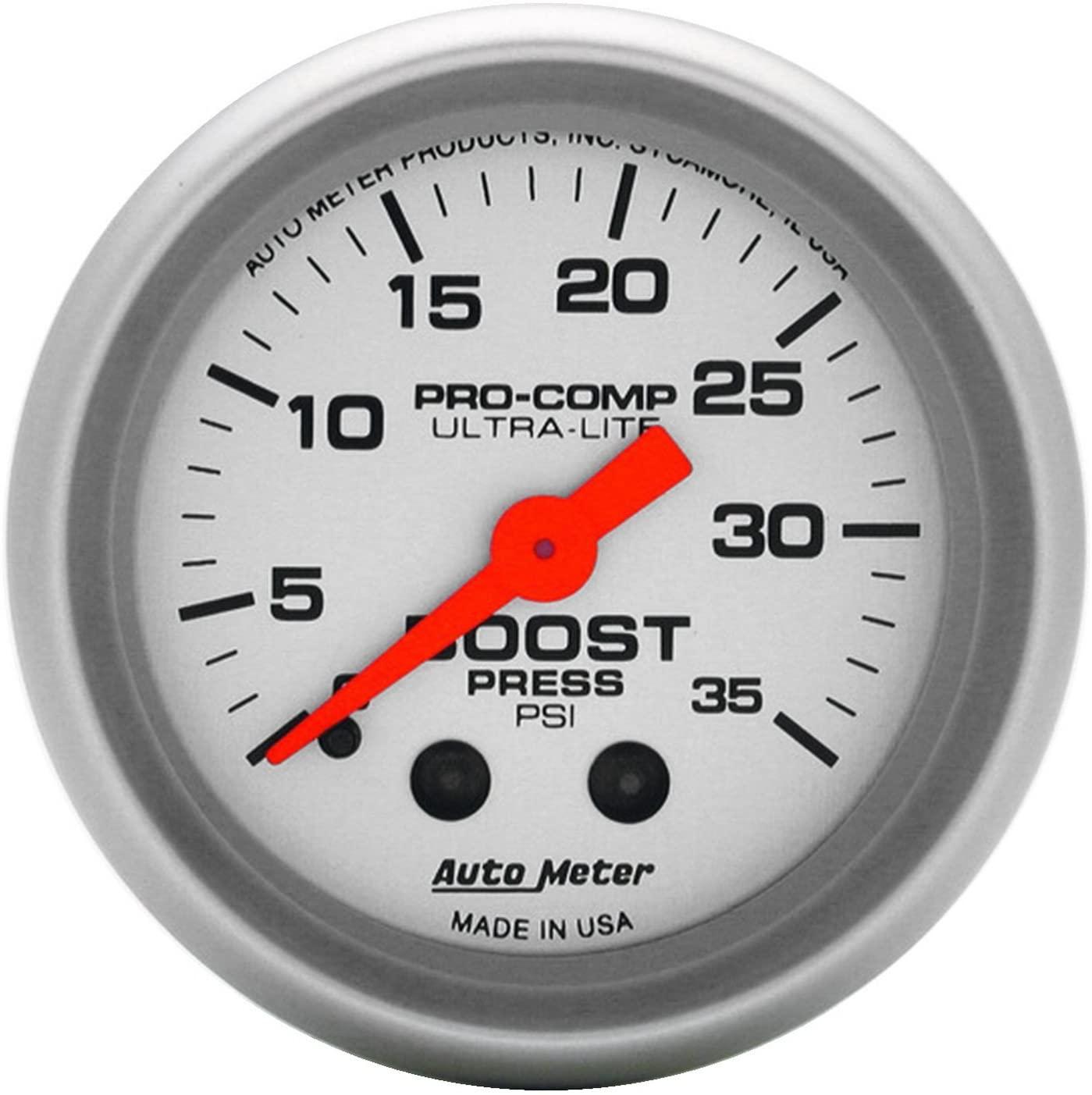 Auto Meter 4304 Ultra-Lite Mechanical Boost Gauge
