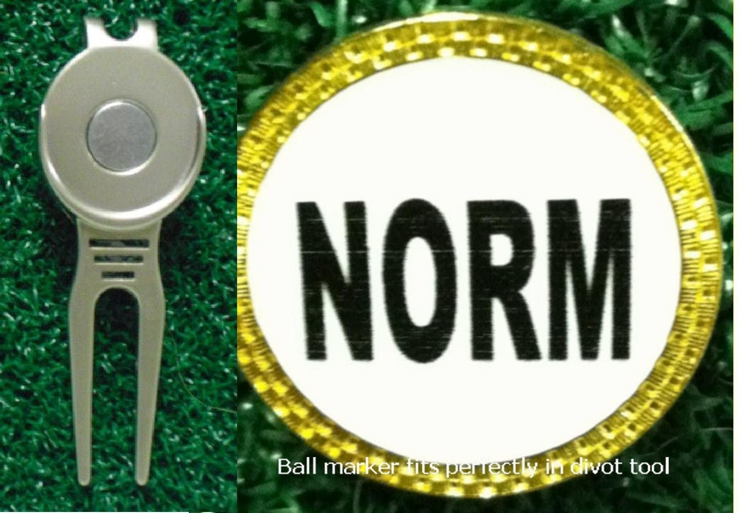 Gatormade Personalized Golf Ball Marker & Divot Tool Norm
