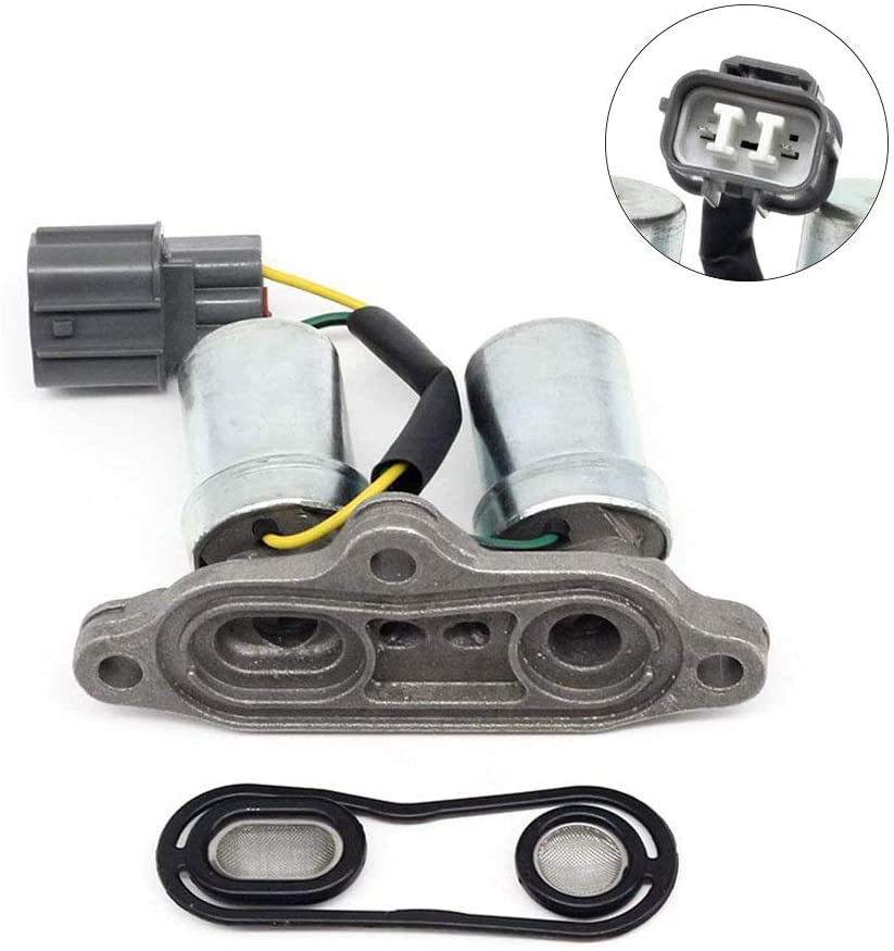 28200P0Z003 Transmission Lock up Solenoid Transmission Shift Solenoid Compatible with Honda Accord Odyssey Acura CL