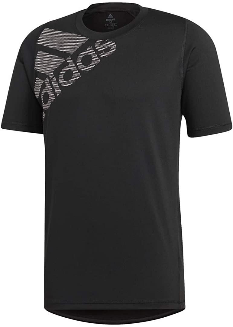 adidas Mens Freelift_Sport Graphic Tee Badge of Sport