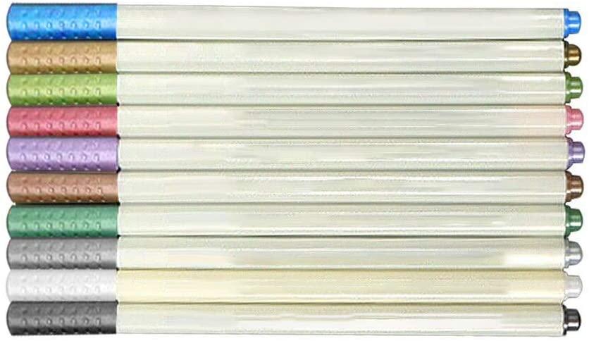 10 Pcs Colors Gel Pen Refills Sets, Students Office Watercolor Gel Pen Markers Replace Supplies Pen Refills (10 Color) (Multicolor)