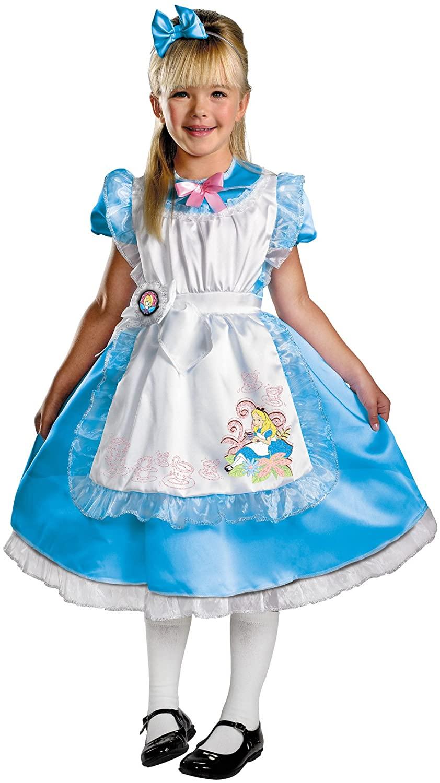 Deluxe Alice in Wonderland Child Costume - X-Small